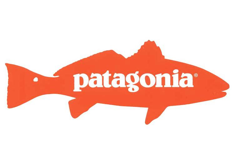 Slick sticker patagonia redfish saltwater jaws for Patagonia fish sticker