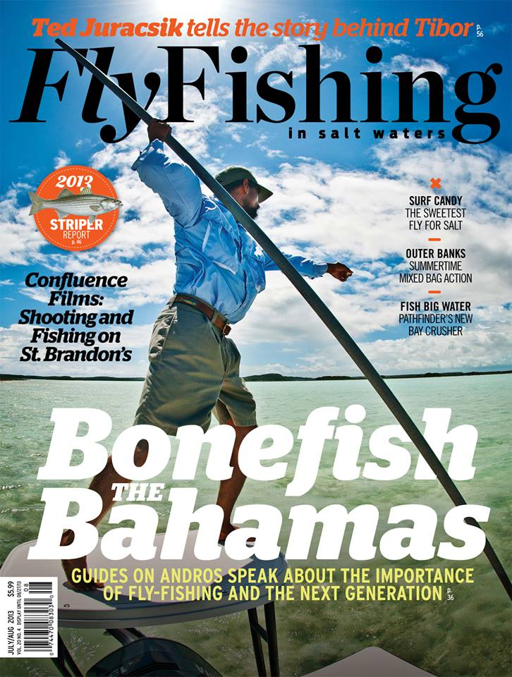 July august issue of fly fishing in salt waters out for Saltwater fishing magazines