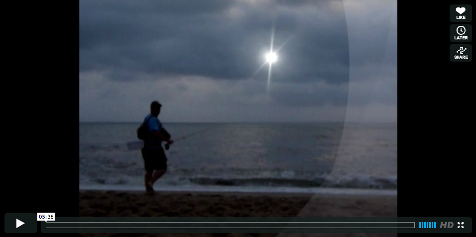 Video fly fishing the outer banks north carolina for Outer banks fly fishing