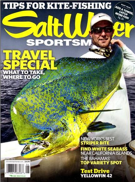 Saltwater sportsman magazine names 50 top fishing charter for Saltwater fly fishing magazine