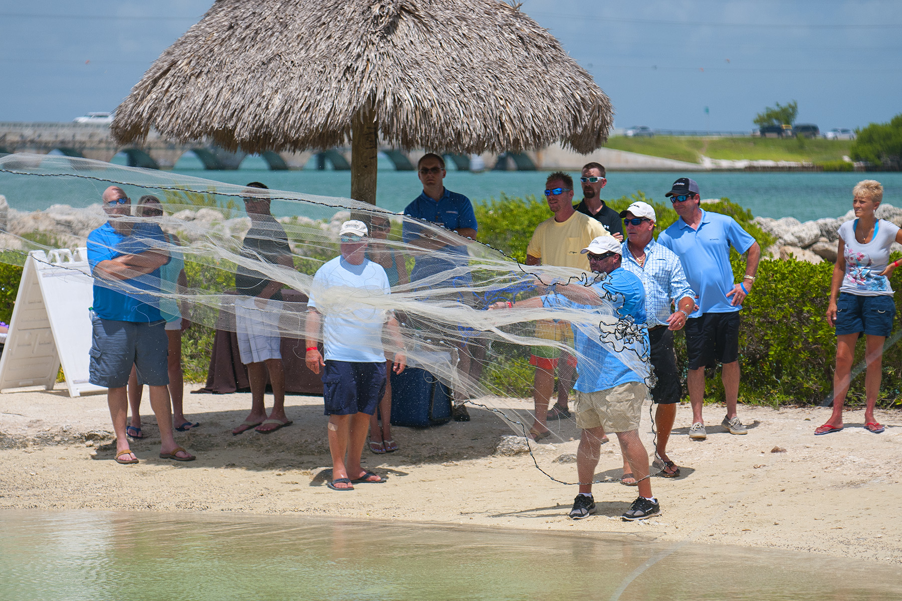 Saltwater experience scores big catch at hawks cay for Hawks cay fishing
