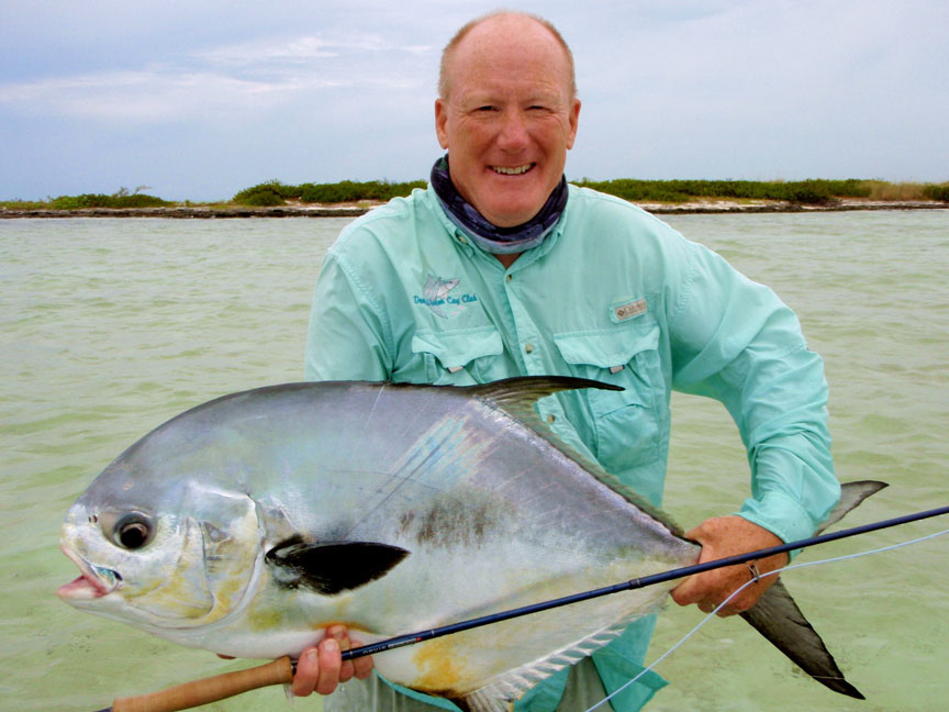 Bahamas saltwater jaws for Permit fly fishing